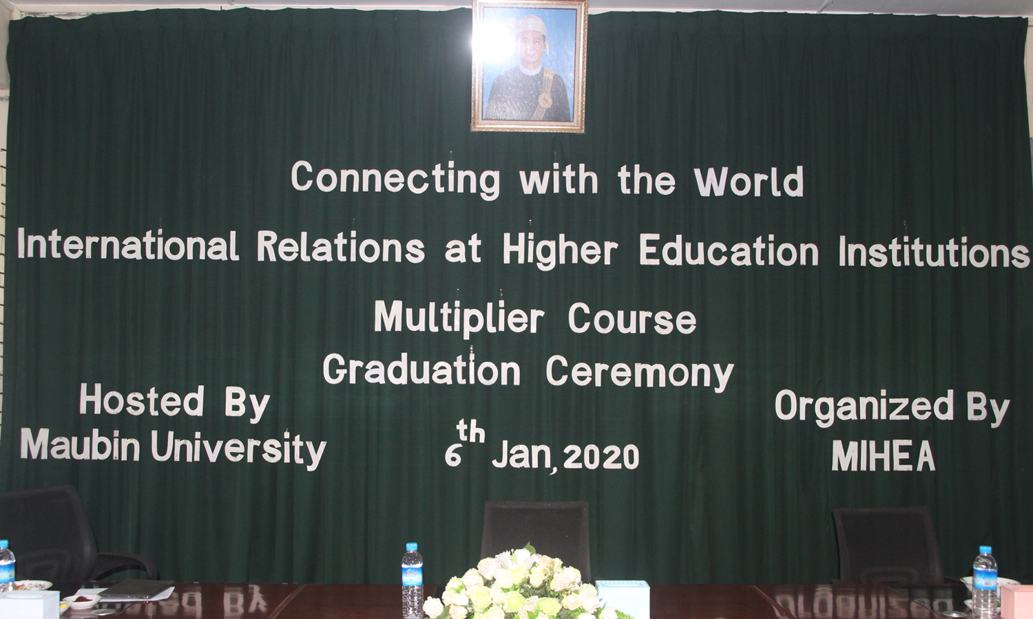 Certificate Graduation Ceremony held for the Connecting with the World Multiplier Course (1/2019)
